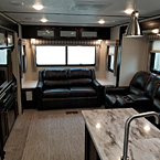 The 3299SE has very comfortable Residential Furniture offering H-A-B sleeper Sofa and Console Theatre Seating.