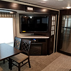 "The 3211RK offers a 50"" LED TV, Bluetooth, DVD, CD and 5100BTU Fireplace in the elegant Entertainment Center."