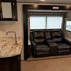 The 3211RK has a nice layout at the Kitchen bar area overlooking the spacious Living Room.