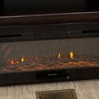 The 5100BTU fireplace is an all-electric unit that is standard in all lacrosse Floor plans (N/A 3360BI)